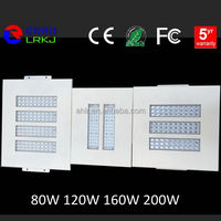 sample for free new products gas station solar led canopy lights 2000 lumen, 120w led gas station light