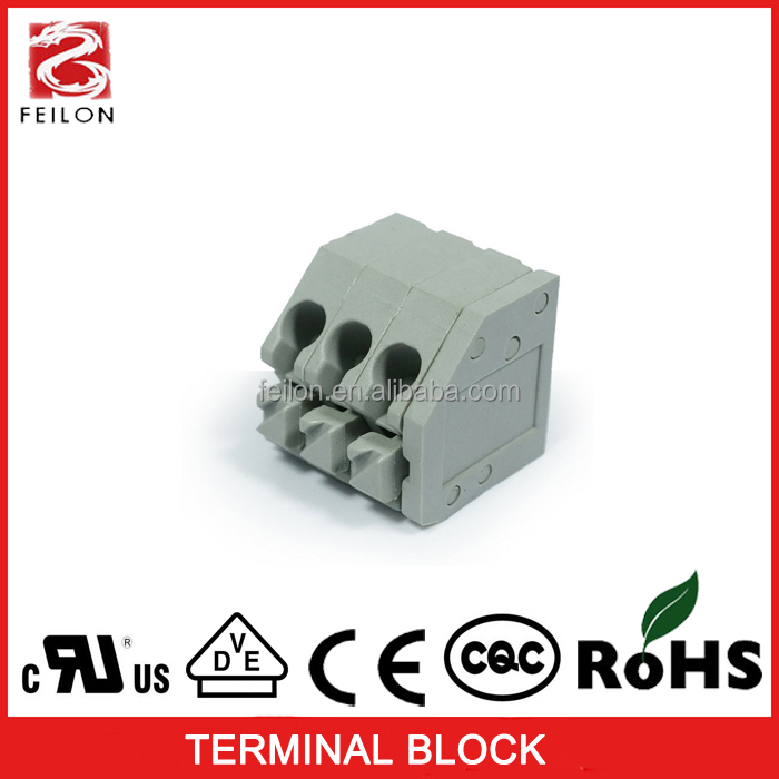 3.5mm pitch 45 degree wiring ballast terminal block