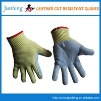 low price and top quality yellow cotton chore gloves