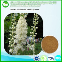 Estrogenic supplement pharmaceutical metrial Black Cohosh Root Extract powder