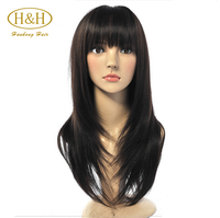 Tangle free shedding free 100% silk top human hair lace wigs for small heads
