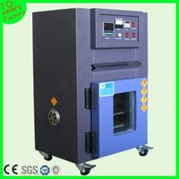 Small vacuum industrial drying oven with digital display