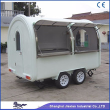 JX-FR300W Attractive small snack mobile food cart with frozen yogurt machine mobile fryer food cart