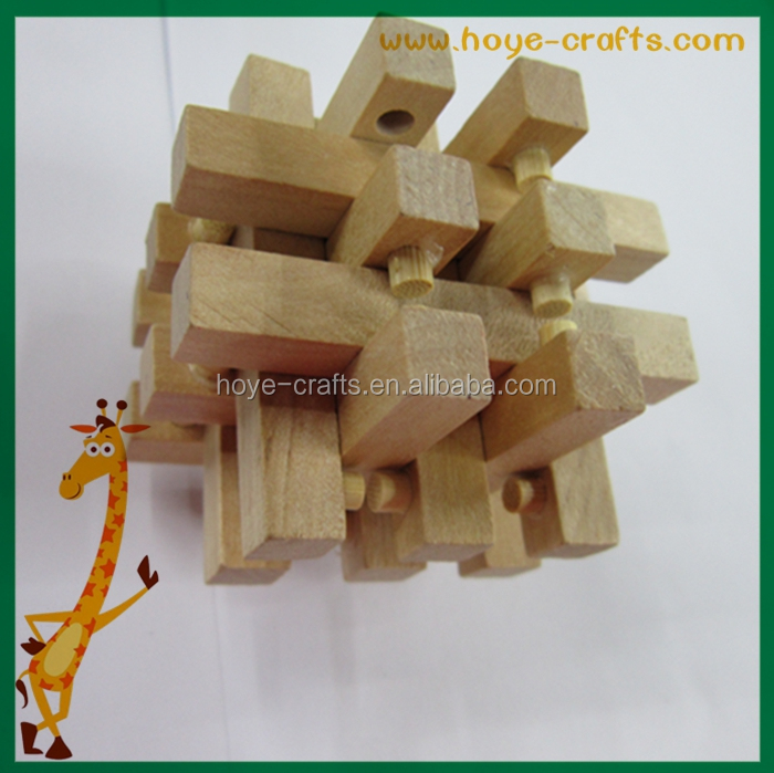 Never Ending Walkway Chunky puzzle wooden Hand Held Puzzles