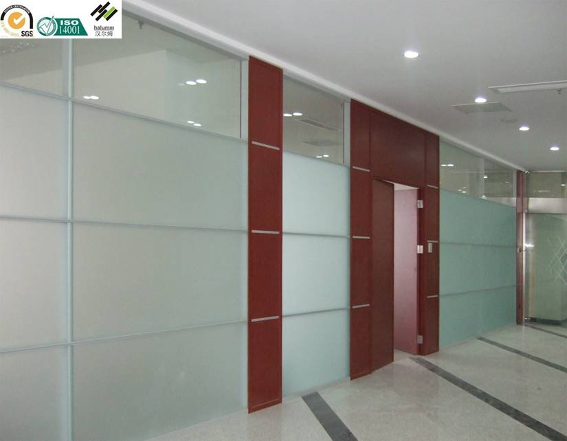 Prefabricated interior partition wa movable office walls Interior glass partition systems