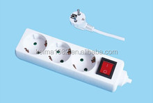 European type electrical outlet multiple socket, function of socket outlet, electrical socket EU-88003