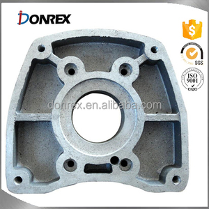 Custom sand cast gray iron Gear Box Housing with ISO 9001 made in China