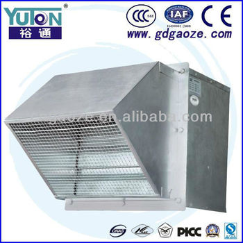 Galvanized Industrial Workshop Greenhouse Wall Mounted Exhaust Axial Blower Fan