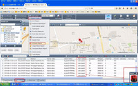 Online real time pc /mobile/ web based gps tracking system with google map