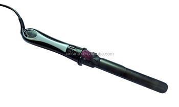LCD display Barrel Hair Ceramic Auto Curling Irons