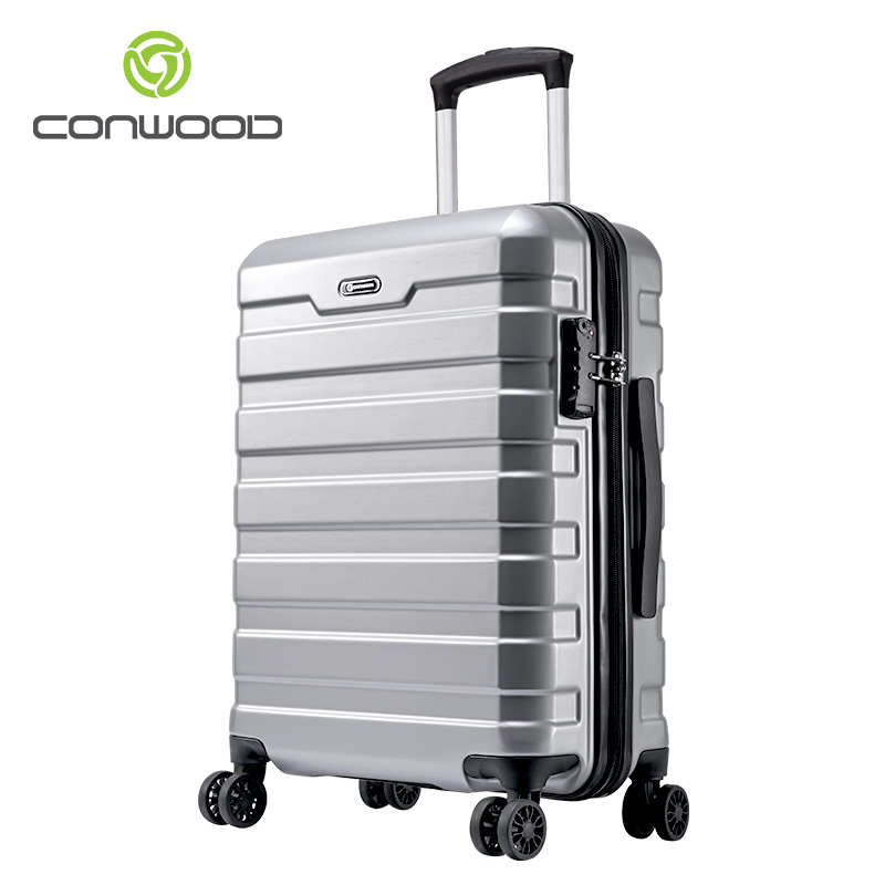 Newest luggage <strong>abs</strong>&pc trolley luggage set Good travel trolley suitcase