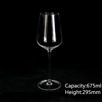 675ml big size wine glass