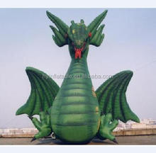 2018 giant green inflatable flying dragon,inflatable flying dragon cartoon for sale,inflatable giant dragon