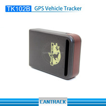 Smallest GPS Tracking Device TK102B With Vibration And Low Battery Alarm