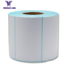 Custom industrial thermal stickers adhesive label roll
