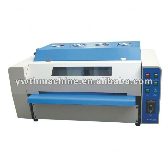 Desktop Photo UV Varnishing Coating Machine With Embossing