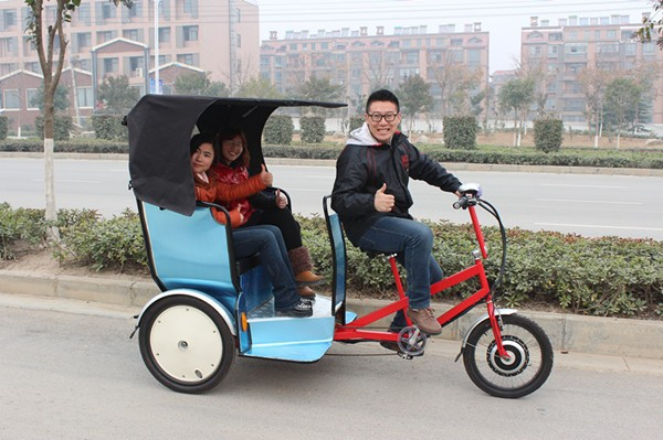 electric pedal rickshaw motorcycle