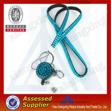 New product promotional items custom rhinestone lanyard iphone 5 trade for sale