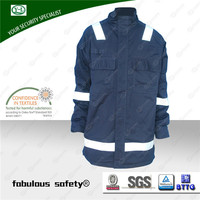Hot sell color flame retardant workwear winter work jackets