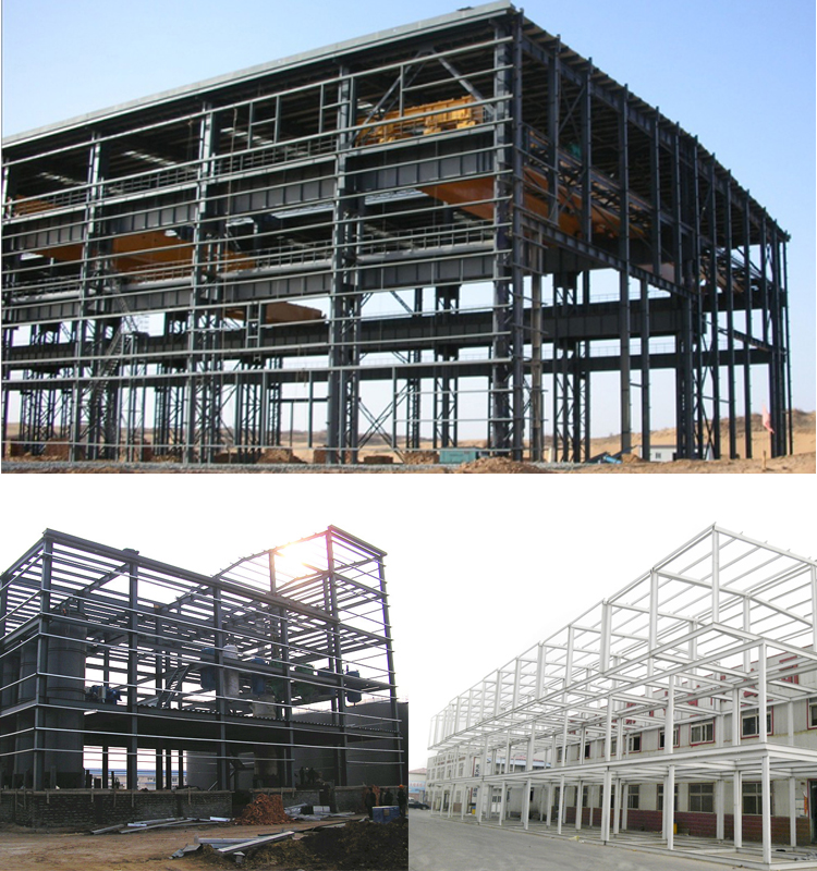 China Cheap Customized Steelwork Prefab Warehouse Steel Structure