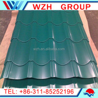 high tensile steel shet !! colored glazed metal tile made in china / pre painted galvanized steel sheet in coil