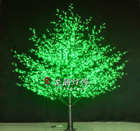 Longteng 4m outdoor led christmas lights led cone optic fibre trees