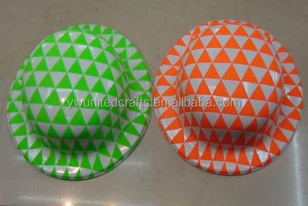 Triangle PVC party hat,adult party hats,funny party hats