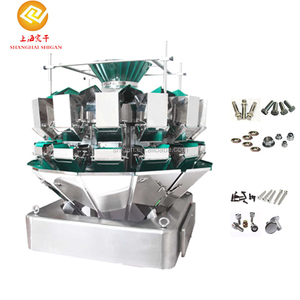 Highly versatile 14 head metal parts multihead combination weigher