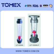 PVC plastic water flow meter made in China