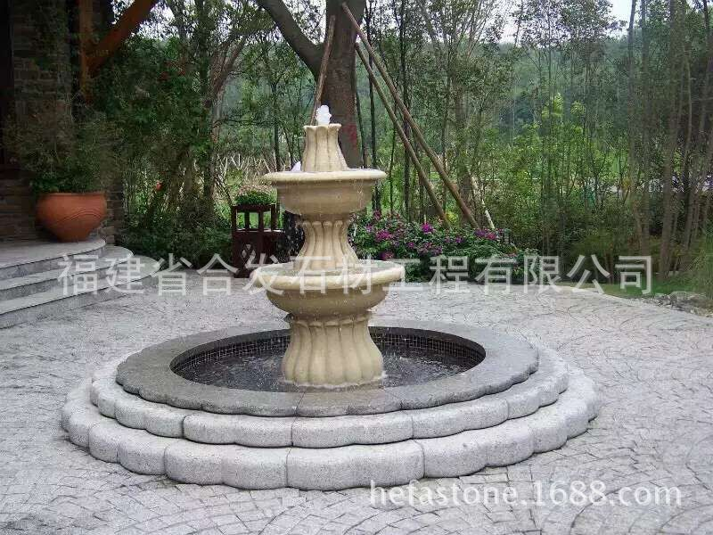 China Factory water outdoor garden fountain for sale