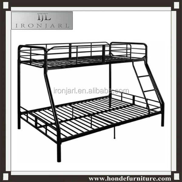 Kids Modern Bunk Bed Twin Metal Double Deck Bed B-132