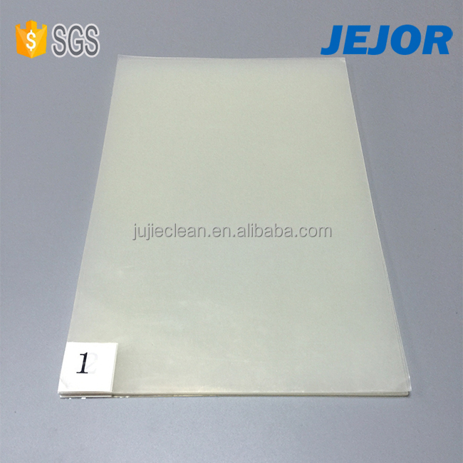 "High viscosity Removal Dust 26x45"" PE film for hospital sticky mat"