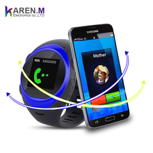 S888A Smart Watch Phone for old man with SIM Calls Anti-lost GPS Tracker