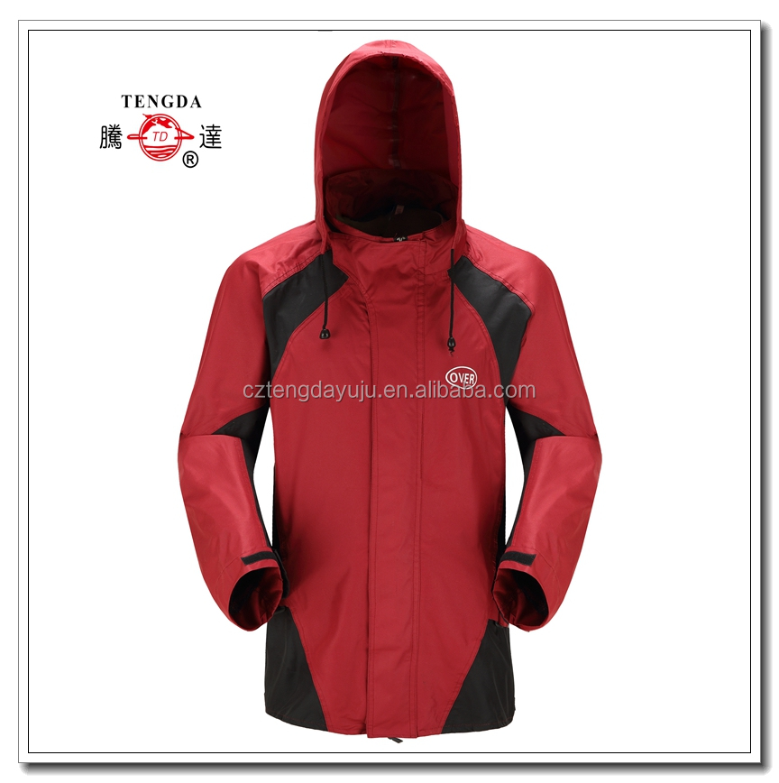 oem breathable heavy duty polyester motorcycle rain suit