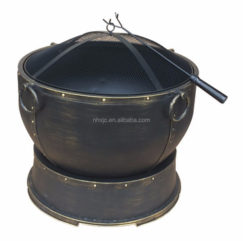 Athena 28 in. Urn Style Steel Fire Pit
