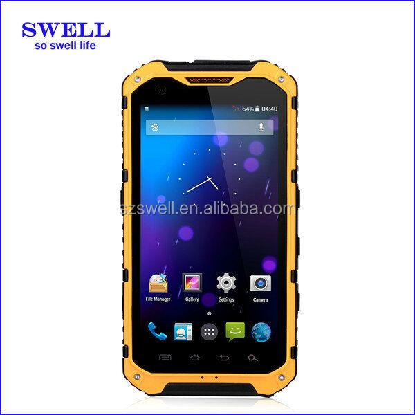 Most fashionable rugged android phone with nfc waterproof IP68 no brand 3G Mobile best oem cell phones