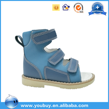 New Design Pary Wear Durable Lovely Boys High Heel Sandals/Kids Medical Orthopedic Shoes
