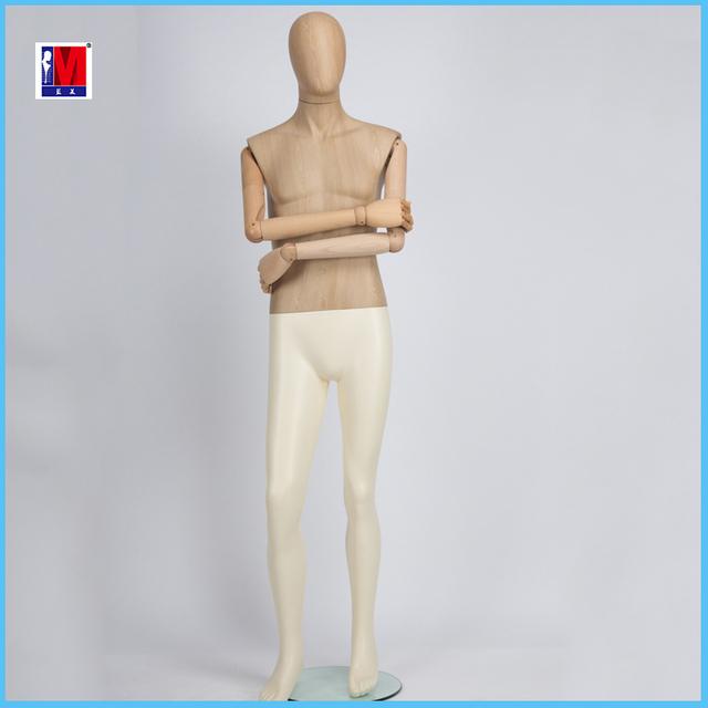 garment display men mannequin full body standing water transfer upper body