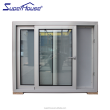 Top supplier SUPERHOUSE AS2047 / CSA Standard australia aluminium window for commercial and residential