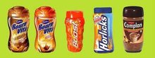 Bournvita, Boost, Complan, Horlicks