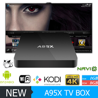 hot selling a95x tv box s905 wifi 2.4ghz a95x android 5.1 wifi display set top box