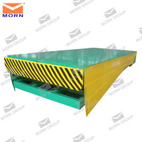 8 tons load capacity adjustable yard ramp fixed hydraulic dock leveler