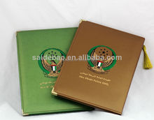 Most popular diploma holder with leather cover, A4 Certificate holder
