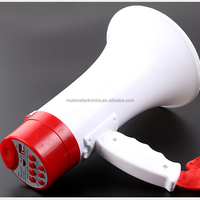 Plastic toy megaphone with innovative digital integrated circuit