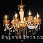 Traditional Simple Crystal Chandelier & Pendant Light