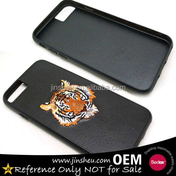 Mobile Accessories TPU Case Custom Design Embroidered Phone Cases