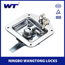 W-05 high quality stainless steel dog kennel lock for dog doors