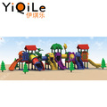 Newest amusement equipment children outdoor playground colorful plastic slides for sale
