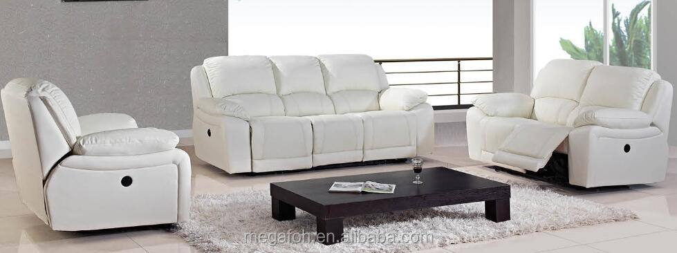 European and Modern Style Leather Sofa For Living Room, Home Furniture (FOH-CBCK64)
