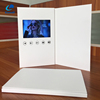 Shenzhen factory custom blank lcd invitation card LED screen greeting card video brochure